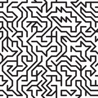 Abstract background with complex maze