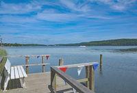 at Lake Dieksee in Holstein Switzerland,Schleswig-Holstein,Germany