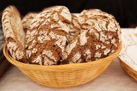 handmade rye bread