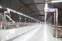 Underground railway station