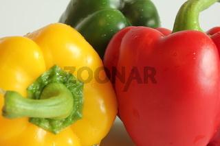Paprika Mix Nahaufnahme