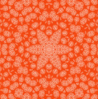 Abstract orange background with pattern