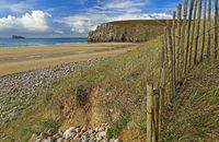 Beach in Brittany, France (Plage de Pen Hat)