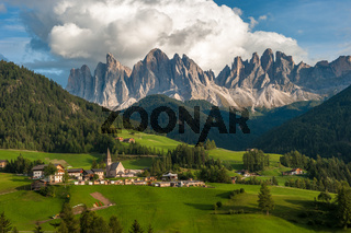 Santa Maddalena Village and the Dolomites, Val di Funes, Italy