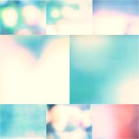 Background blur smooth colorful bright beautiful set of photos.