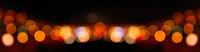 Abstrakter Panorama Bokeh Hintergrund bei Nacht