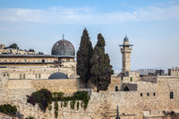 Walls of ancient Jerusalem