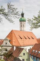 Church of the city of Dachau