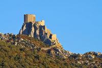 Queribus Burg - castle Queribus in France
