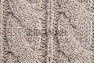 image of knitted fabric texture