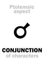 Astrology: CONJUNCTION (aspect)