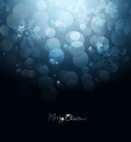 Happy Holiday Blue Christmas Background
