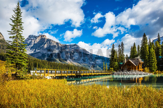 Bridge over Emerald Lake