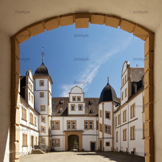 castle Neuhaus, Paderborn, East Westphalia, North Rhine-Westphalia, Germany, Europe