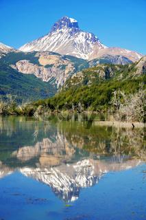 Cerro Castillo reflection