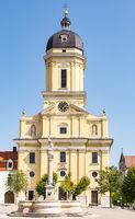 The Hofkirche church in Neuburg
