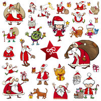 christmas characters cartoons