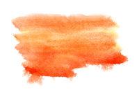 Orange watercolor background