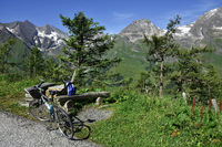 alps; Austria; Europe; Glockner Group; bicycling tour;