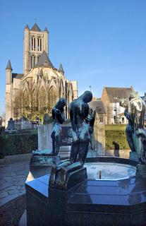 Sankt-Niklaaskerk in Gent Belgien
