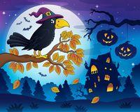 Witch crow theme image 5