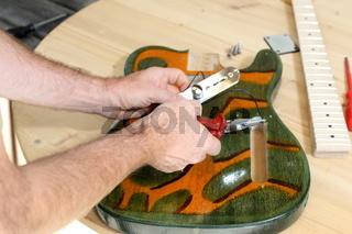 Bau eines Instrumentes