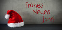 Santa Hat, Frohes Neues Jahr Means Happy New Year
