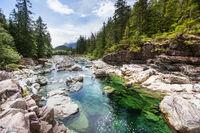 Mountains creek