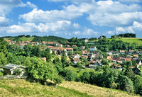 Village of Sankt Andreasberg in Harz Mountain,lower Saxony,Germany