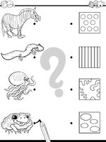 match images coloring game