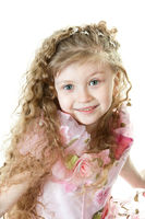 Portrair of a little princess
