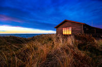 House in the dunes near Hirtshals