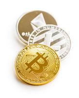 Bitcoin, litecoin and ethereum.