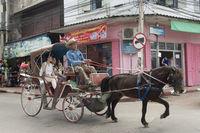 THAILAND LAMPANG HORSE CARRIAGE