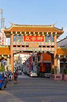 Chinatown Kuching, Sarawak, Boreno