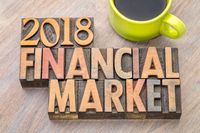 2018 financial market in wood type