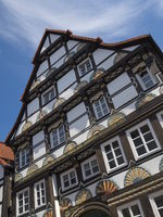 Hamelin - Half-timbered house, Germany