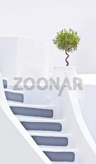 Santorini stairs