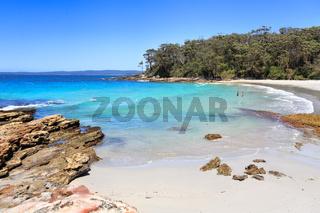 Beautiful beaches of Australia Blenheim beach