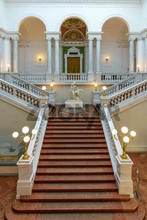 LEIPZIG, GERMANY – MARCH 17, 2015: university library 'Bibliotheca Albertina' of Leipzig