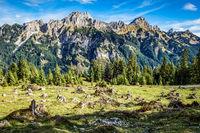 Mountains Tannheimer Tal