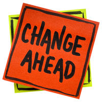 change ahead reminder note