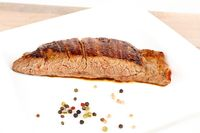 fried flank steak