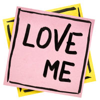 Love me reminder note