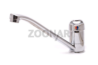 Mixer tap isolated on a white background
