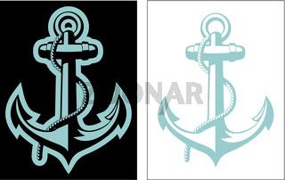Vector Nautical Anchor