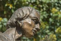 Statue Detail - Head of a Man