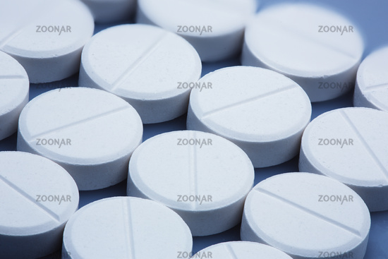Multiple tablets, close-up