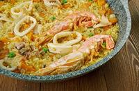 seafood paella Marinera