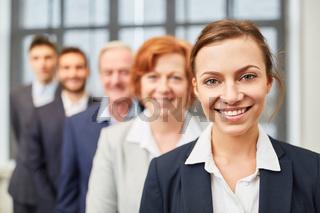 Junge Business Frau als Entrepreneur
